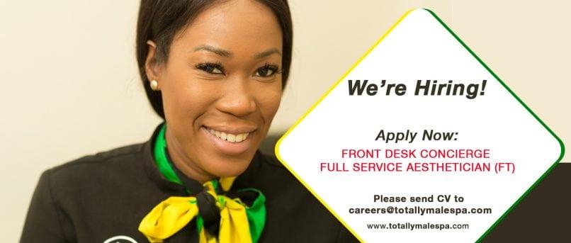 now_hiring_spa_jamaica
